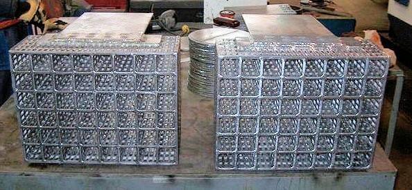 Custom Lead Anode Grids