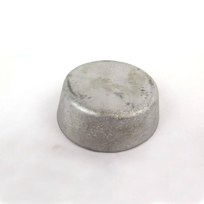 block of low temperature alloy
